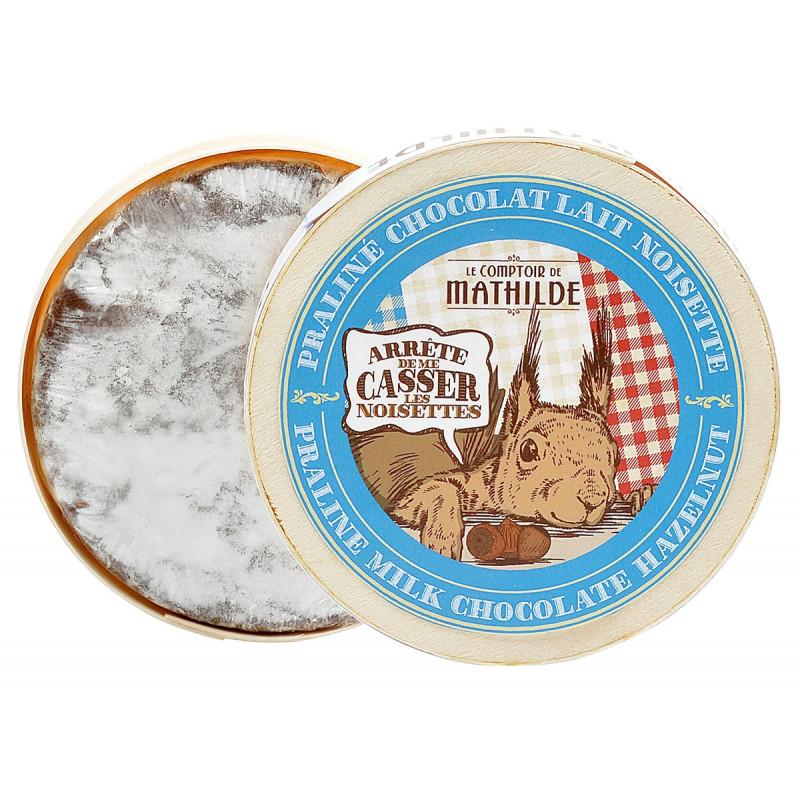 Camembert en chocolat lait praliné noisette
