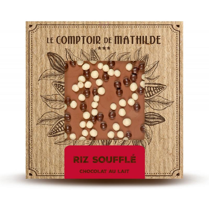 Riz soufflé - Chocolat lait