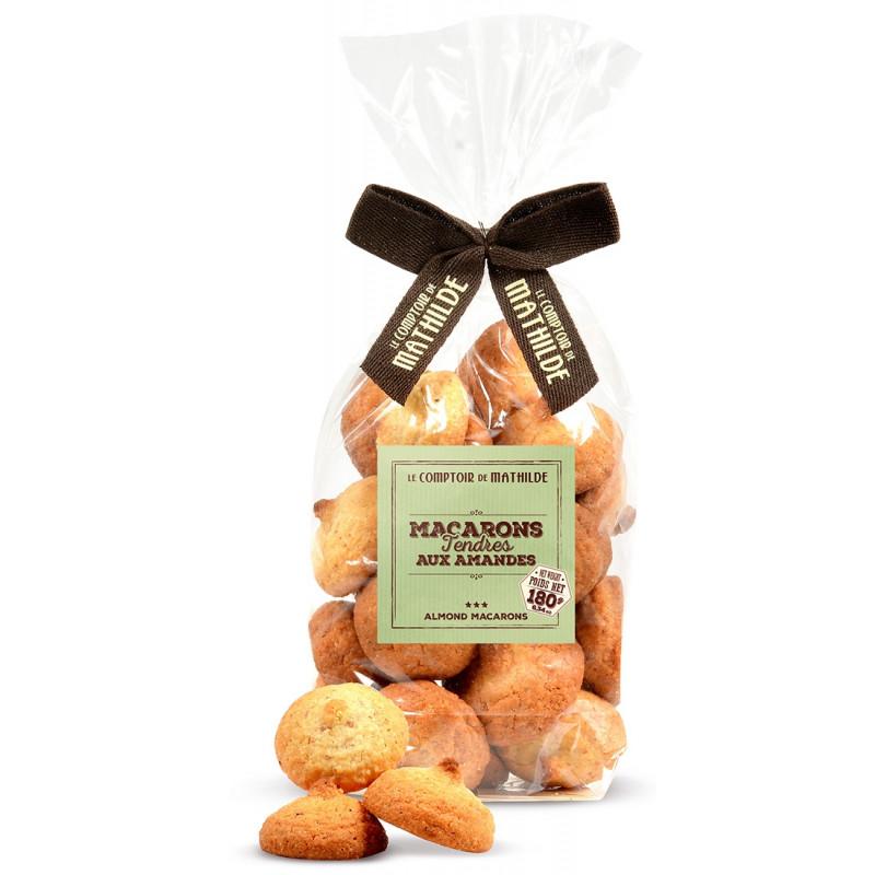 Macarons tendres aux amandes