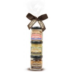 Papillote 3 tartinables salés (3x30g) 5 recettes assorties