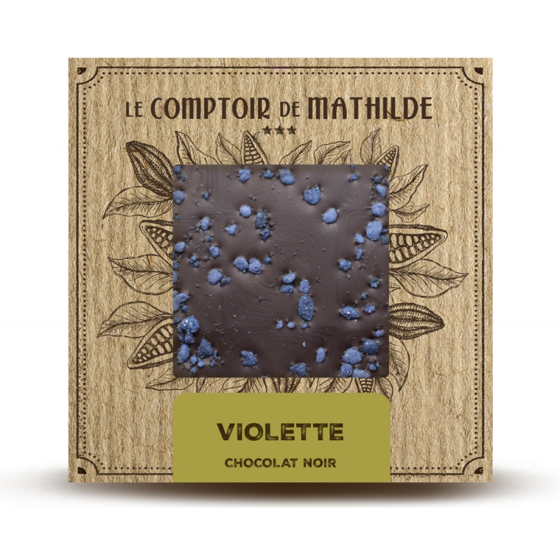 Violette - Chocolat noir