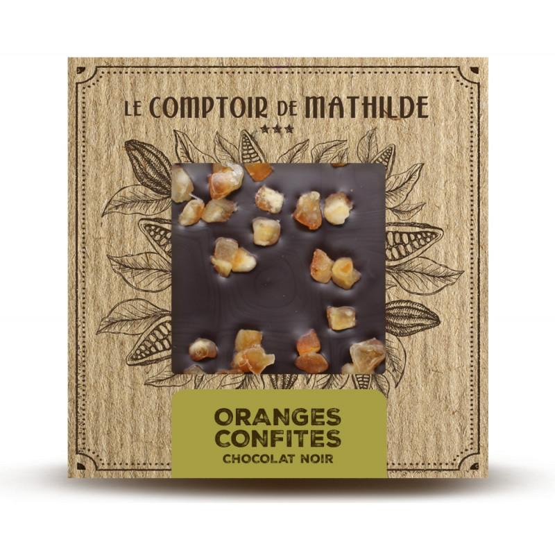 Oranges confites - Chocolat noir