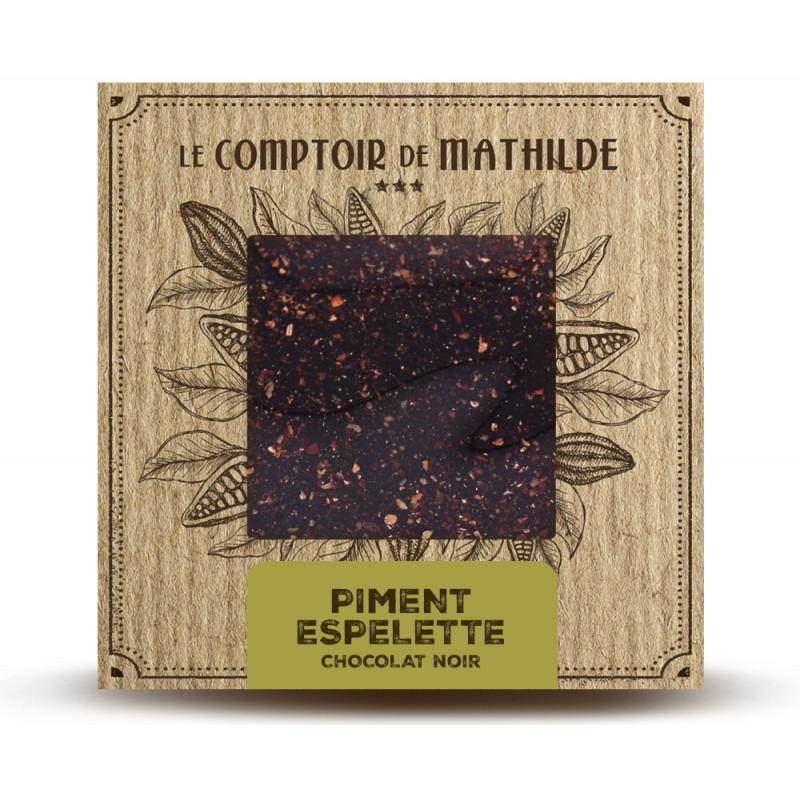 Piment d'Espelette - Chocolat noir