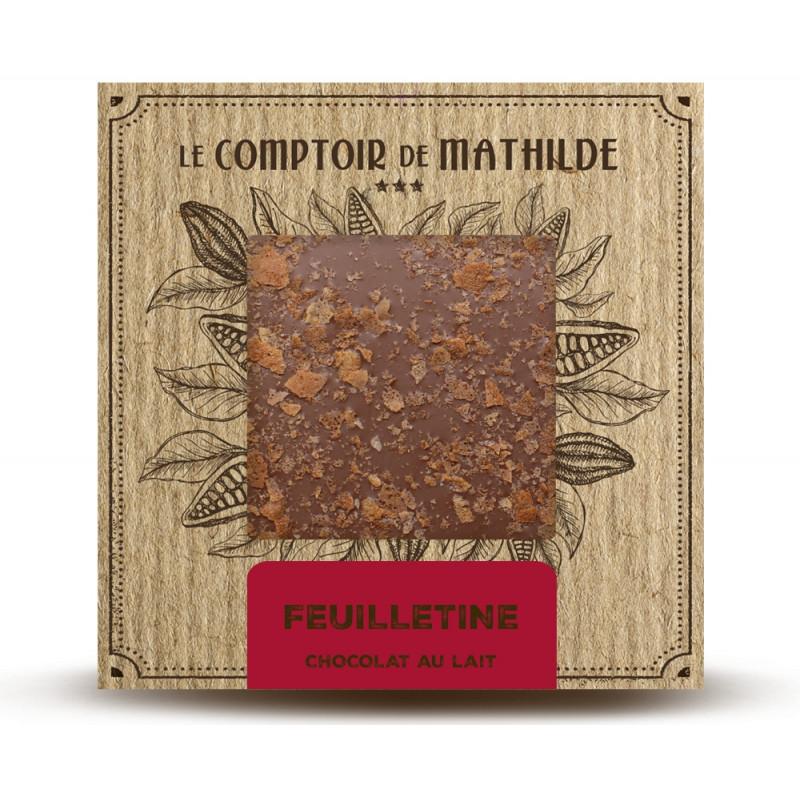Feuilletine - Chocolat au lait