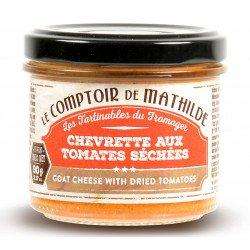 Chevrette aux Tomates Séchées