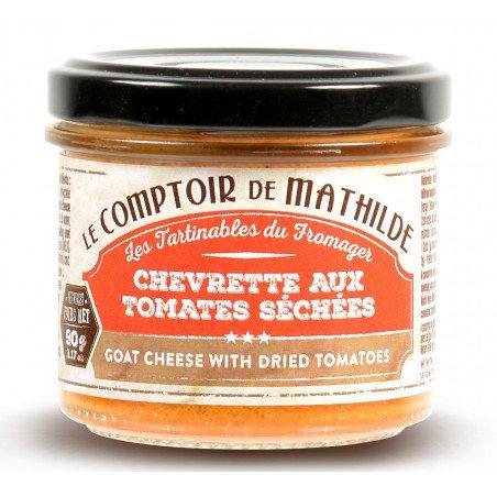 Chevrette aux Tomates Séchées - Tartinable