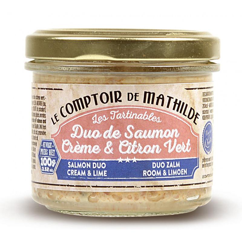 Duo de Saumon Crème et Citron Vert