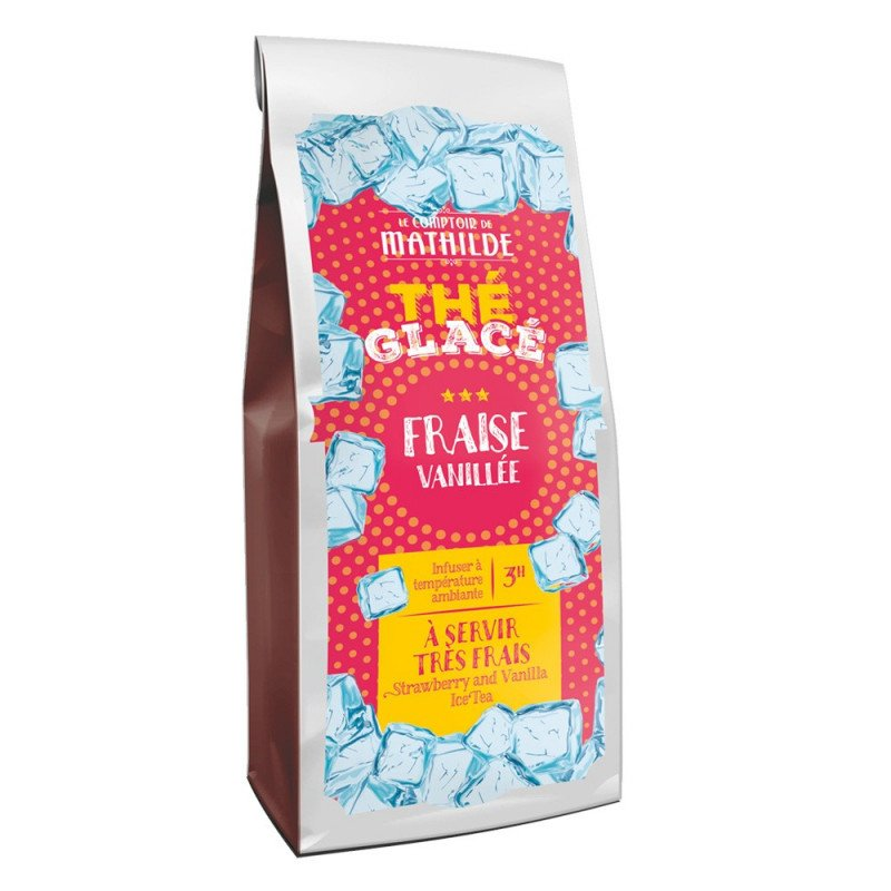 Thé glacé Fraise vanillé