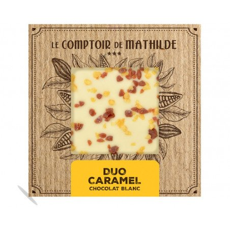 Tablette Duo Caramel - Chocolat Blond