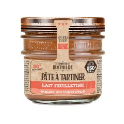 Lait Noisette Feuilletine - Pâte à Tartiner