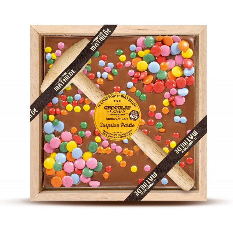 Milk Chocolate with coated milk chocolate candy