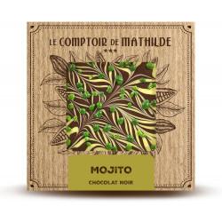 Tablette Mojito - Chocolat noir