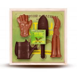 Gardener box dark and milk chocolates