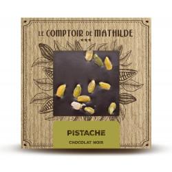 Tablette Pistache - Chocolat noir