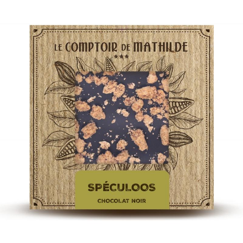 Tablette Spéculoos - Chocolat noir