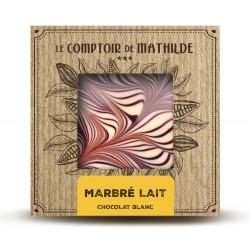 Tablette Marbré lait - Chocolat blanc
