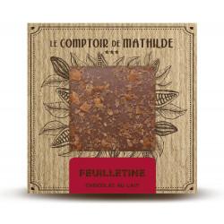 Tablette Feuilletine - Chocolat au lait