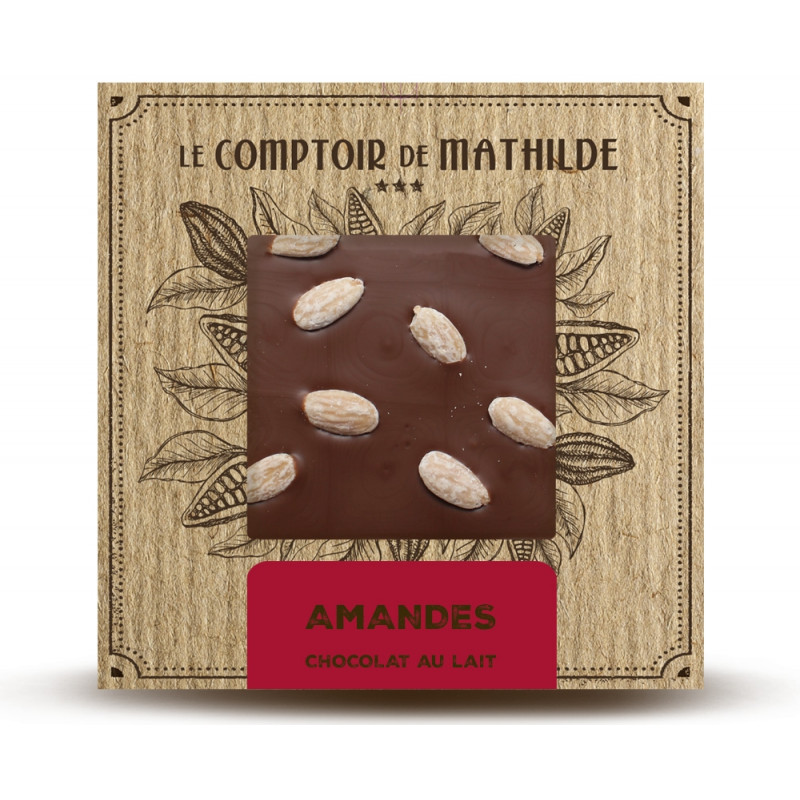 Amandes - Chocolat lait