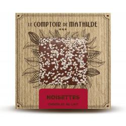 Tablette Noisettes Caramélisées - Chocolat lait