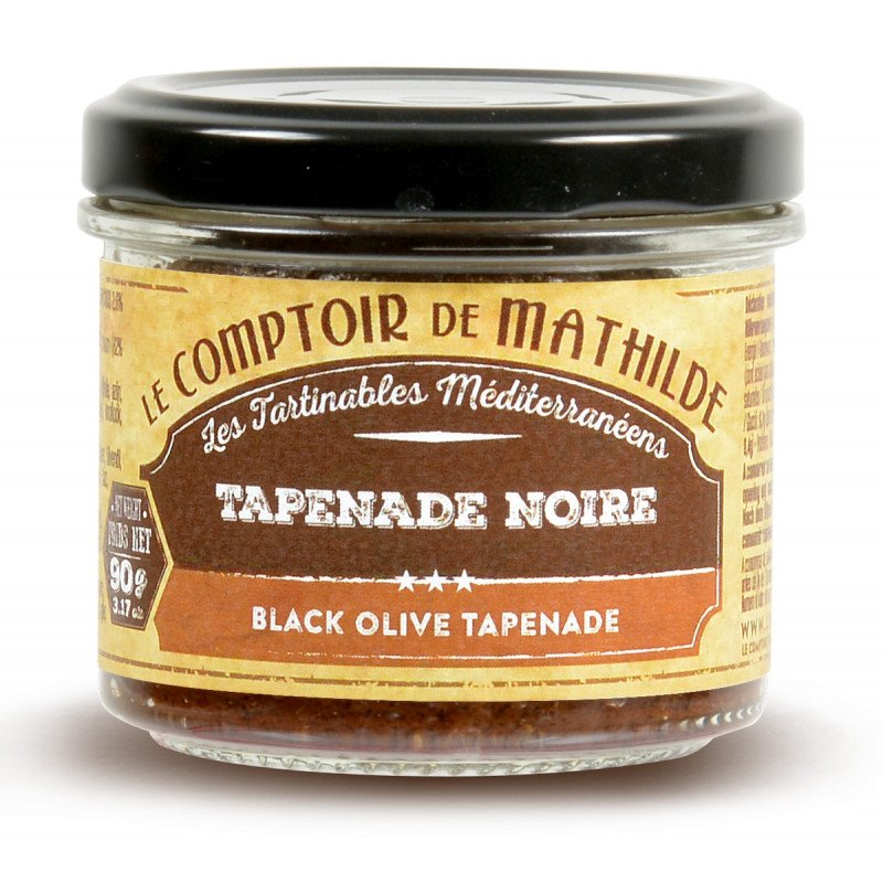 Tapenade Noire tartinable 90g