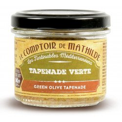 Green olive tapenade spreadable 3.17 oz