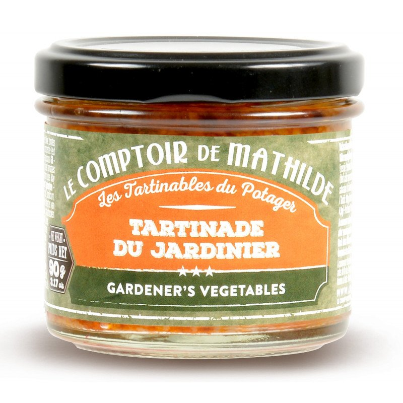 Tartinade du Jardinier 90g