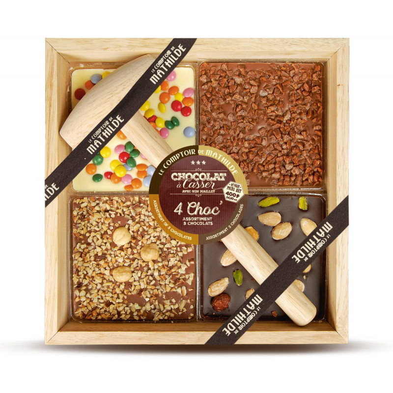 Les 4 Choc' - 3 chocolats