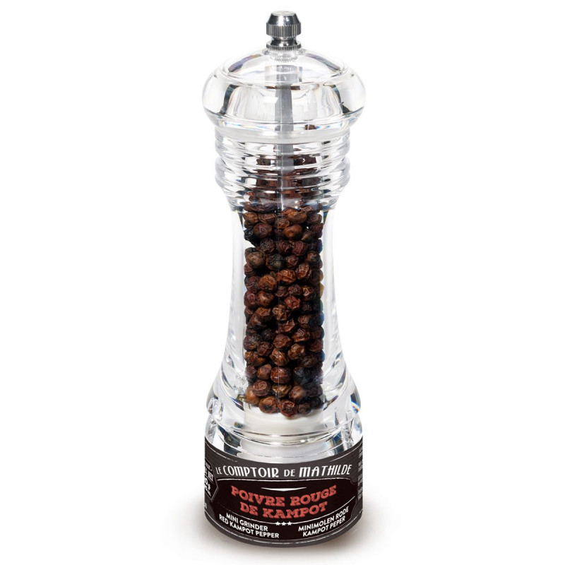 Red Pepper from Kampot Cambodia Mini Mill 0.70oz