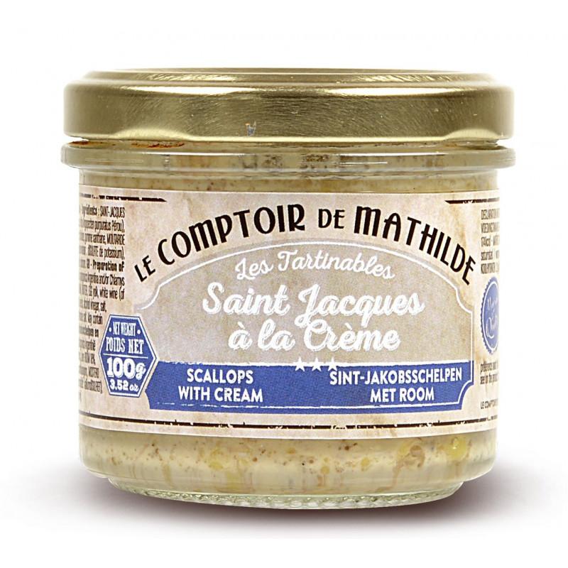 Saint Jacques à la Crème tartinable de la mer 100g