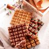 Mendiant Myrtilles et Noix de Pécan Caramélisés - Chocolat noir