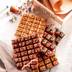 Mendiants Milk Chocolate with Caramelised Hazelnuts