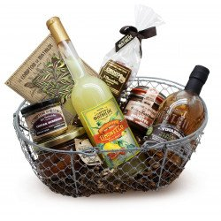 Oval wire basket - sold empty