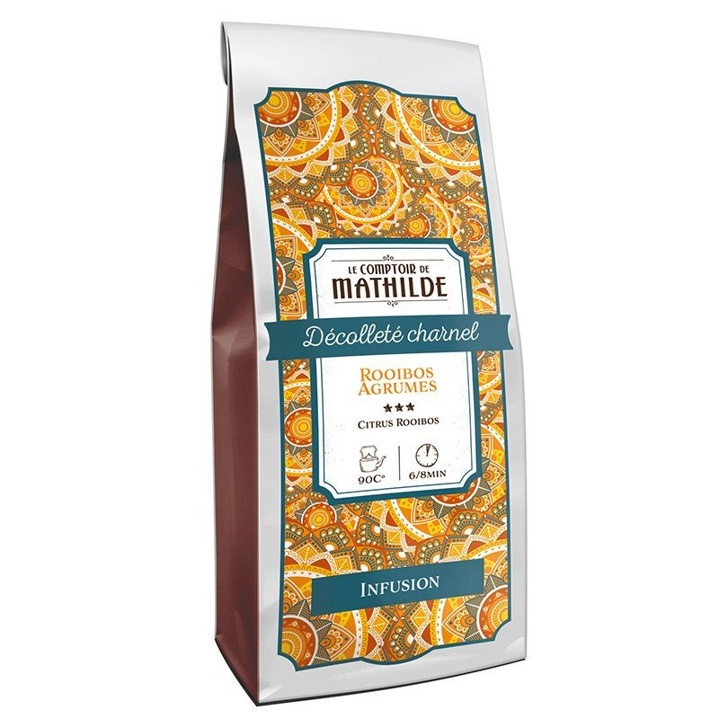 Infusion Décolleté charnel - Rooibos agrumes