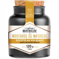 Mathilde's mustard with white wine recipe - 4.23oz