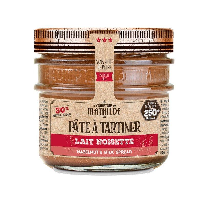 Pâte à Tartiner Chocolat Lait Noisettes 30% 250g