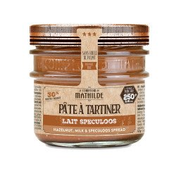 Milk Hazelnut Speculoos spread 8.81oz