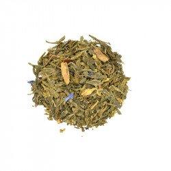 Orange and Cinnamon Christmas Green Tea
