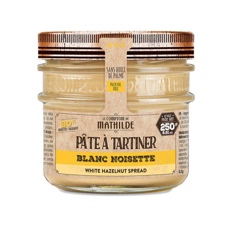Blanc Noisettes 20% Pâte à Tartiner 250G
