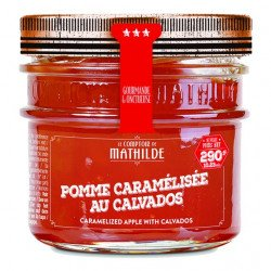 Caramelized Apple with Calvados - Jam