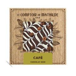Tablette Café Crème - Chocolat noir