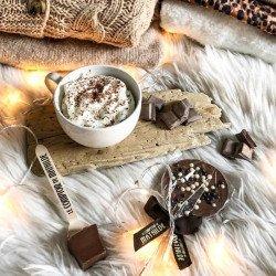 Chocolat lait riz soufflé - Sucette Chocolat