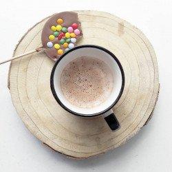 Party milk chocolate - Chocolate lollipops