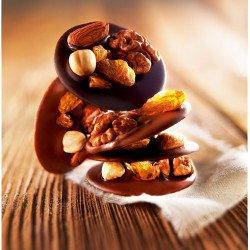 Mendiants duo de chocolats