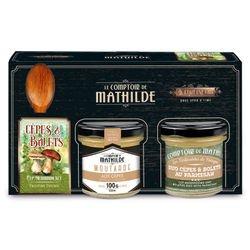 Cep Mushroom & Boletus spoon set mustard 100g spreadable parmesan 90g