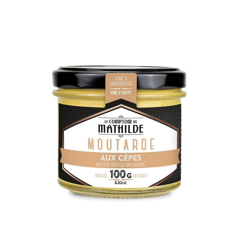 Mustard with Cep Mushrooms Le Comptoir de Mathilde