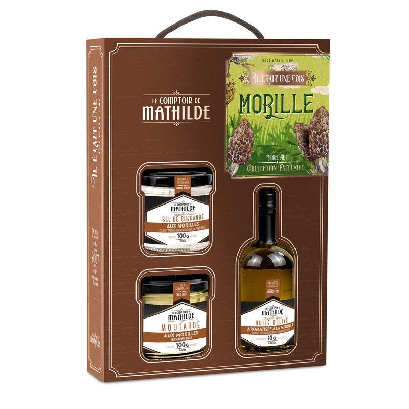 """Coffret """"Il était une fois La Morille"""" Le Comptoir de Mathilde"""