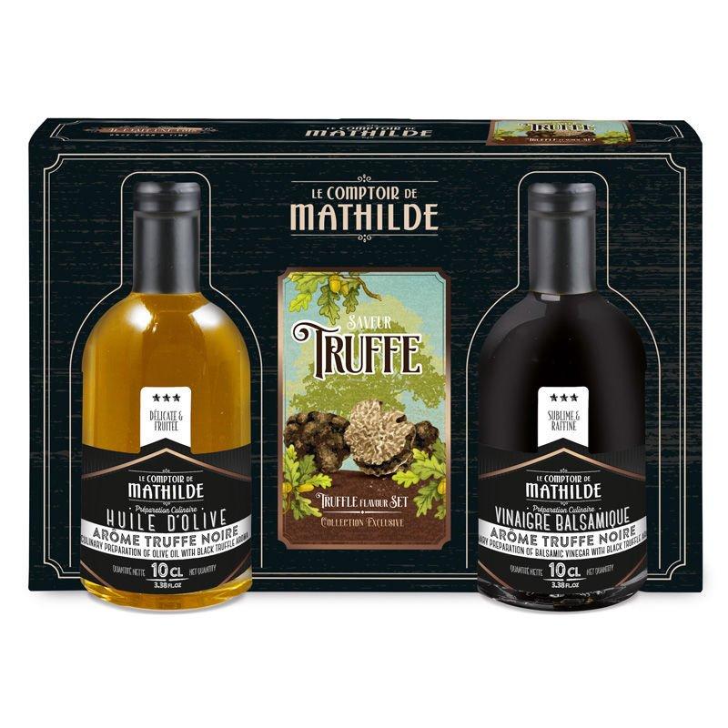 Coffret amateur truffe noire 2x10cl