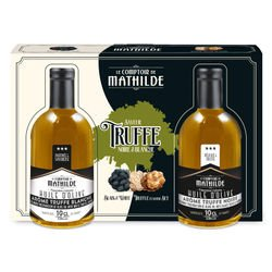 Coffret amateur Truffe Black & White 2x10 cl