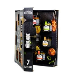 Finest Mustard box set 7 x 1.23 oz