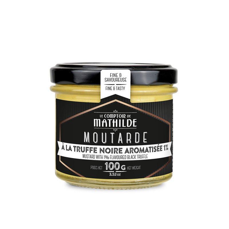 Moutarde à la truffe noire aromatisée 1%
